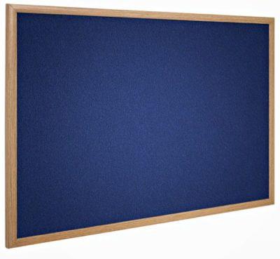 BLUE FELT OAK FRAME Large