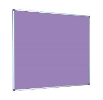 Purple Felt with Aluminium Frame